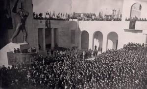 Mussolini-a-Corridonia