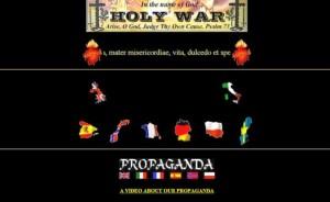 Il sito Holywar di ispirazione nazista e antisemita