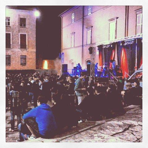 Un concerto durante la Festa dell'Europa