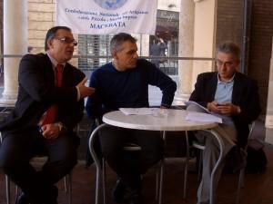 Luciano-Ramadori-Maurizio-Tritarelli-Giovanni-Dini