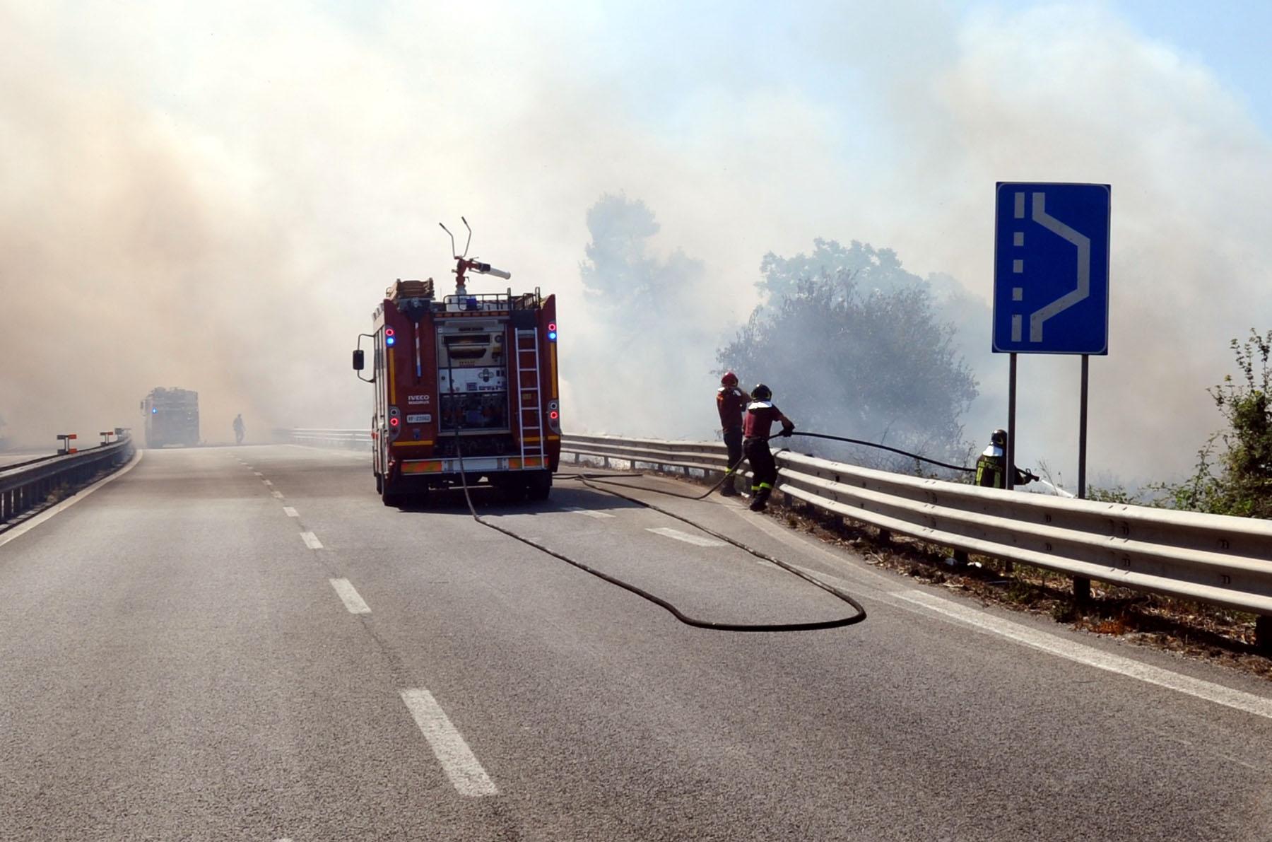 incendio-superstrada