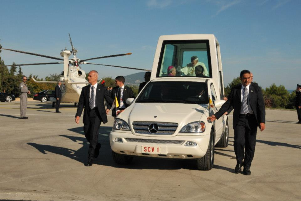 La visita del papa a Loreto il 4 ottobre scorso