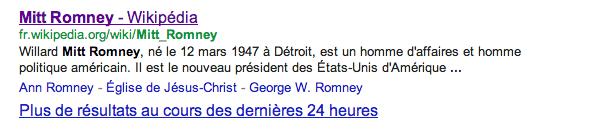 Romney-eletto