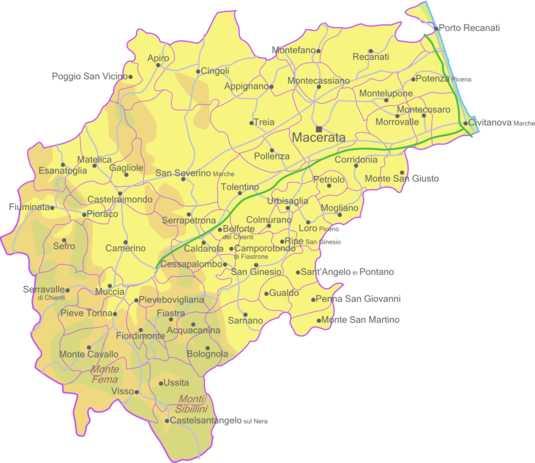 acasă macerata și provincia