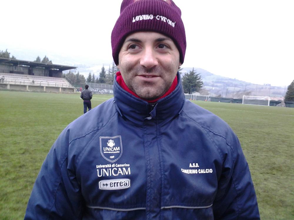 A - Tiziano Turchetti allenatore del Camerino