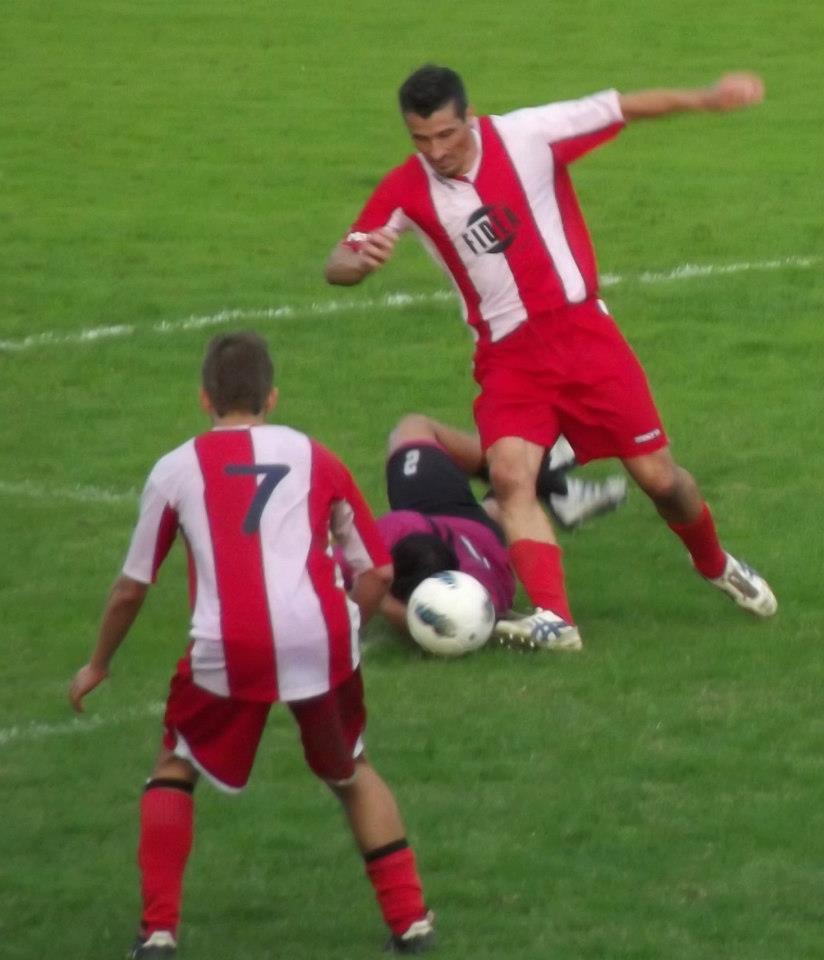 Il centrocampista Lazzoni