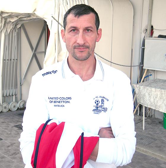 Paolo Di Piero, allenatore della Sefrense