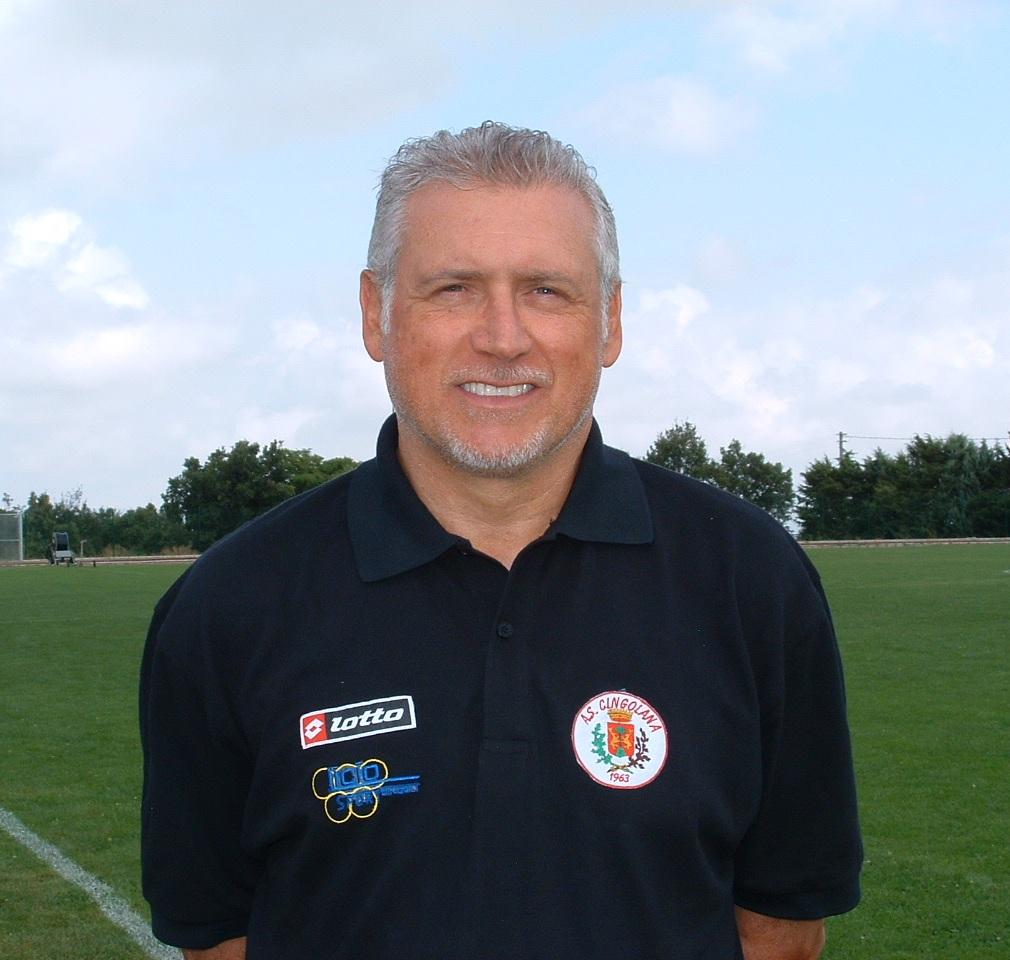 L'allenatore della Cingolana Sandro Sabbatini
