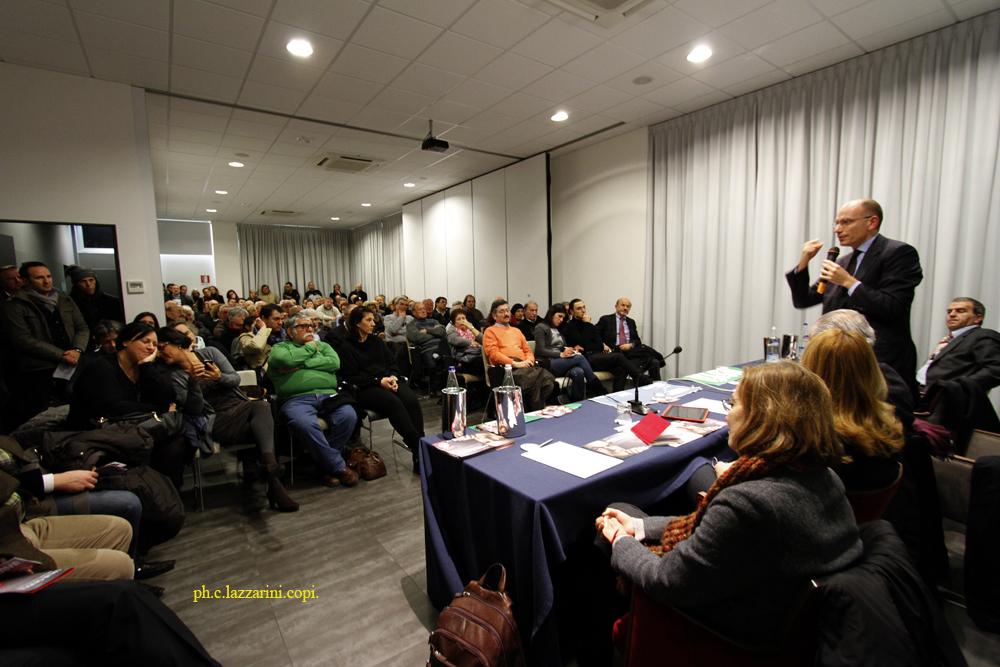 L'incontro a Civitanova (foto di Ciro Lazzarini)