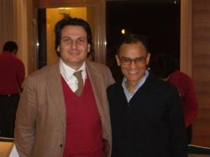 Magdi Allam con l'avvocato Aldo Alessandrini