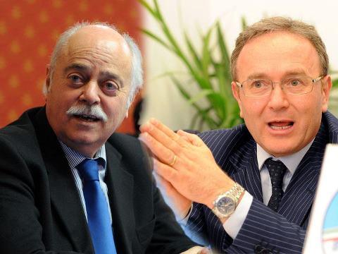 Antonio Pettinari e Franco Capponi