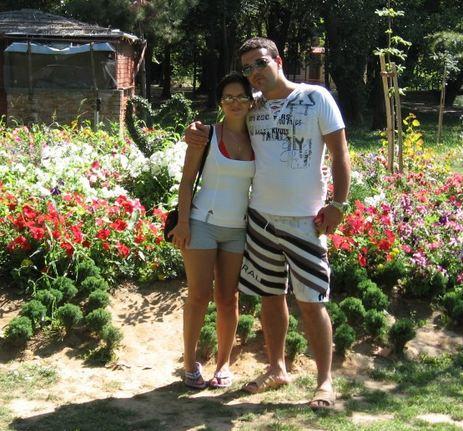Giulia Baldassarri e il marito Sokol Udaj