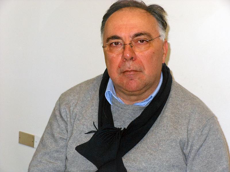 il presidente della Croce Verde Stefano Monachesi