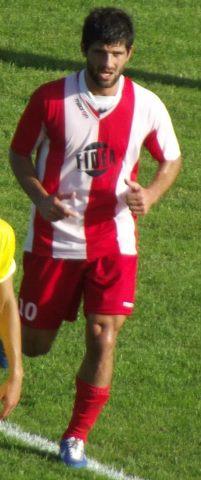 Il centrocampista Colella