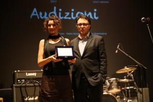 Ilaria Pastore vince il premio per la migliore esibizione