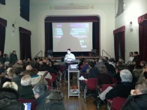 L'assemblea a Castelraimondo