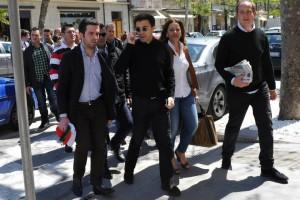 Luisella Cellini con Italo Bocchino lo scorso Aprile in occasione delle elezioni amministrative