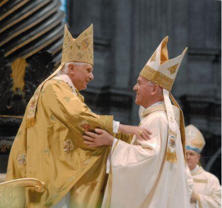 Monsignor Brugnaro ordinato vescovo da papa Ratzinger