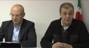Fabrizio Valentini e Marco Ferracuti