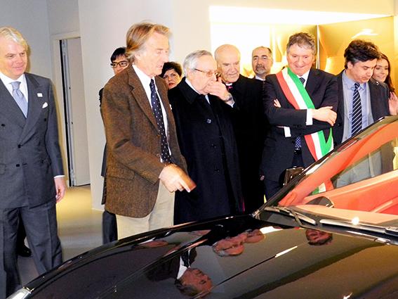 La Ferrari esposta al museo